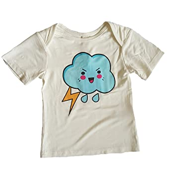 247eff4556a6 Amazon.com  Earth Baby Outfitters Buttery Soft Bamboo Prints T-shirt ...