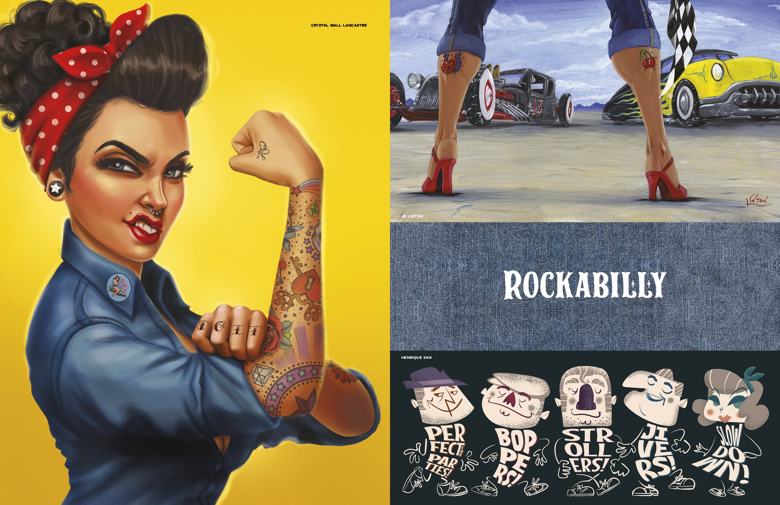 Join. And Rockabilly girls bent over cars your