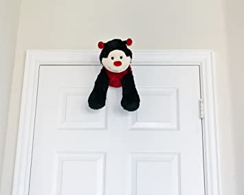 Amazon Com Mydoorfriends Plush Animal Door Stop Red Black Ladybug