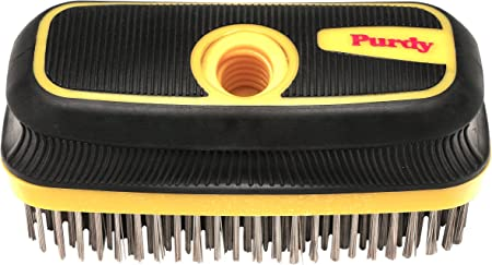 """6x HEAVY DUTY WIRE BRUSHES 11/"""" 4 Row Steel Bristles Large Paint Rust Cleaner Set"""