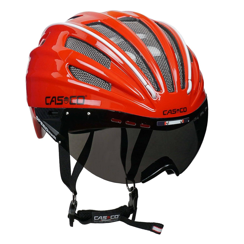 Casco de carreras casco de bicicleta para triatlón Casco Casco Speed Airo con visera - Edición Especial En Una Edición Limitada - En los colores azul o rojo ...