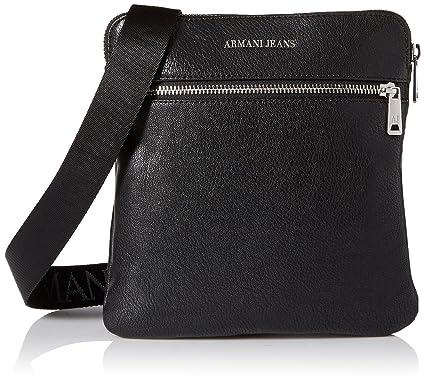 Armani Jeans Messenger bag man black  Amazon.co.uk  Clothing 383e15a2b1