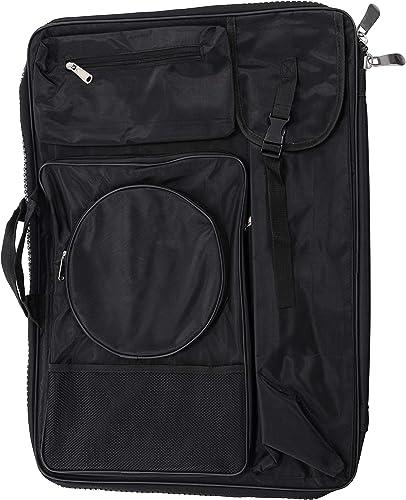 US Art Supply Black Nylon Portfolio Bag