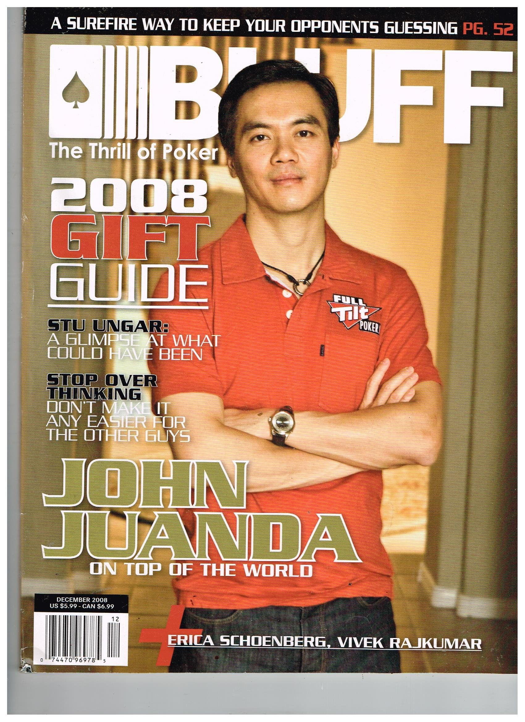 Bluff Magazine Dec 2008 John Juanda On Top Of The World Contributing Editors Amazon Com Books