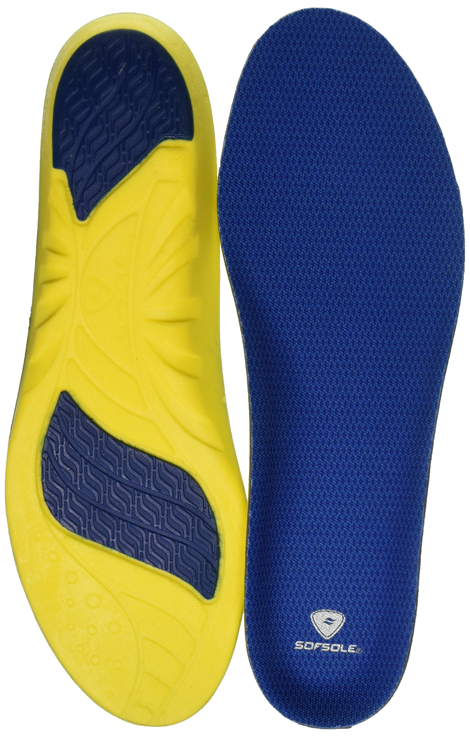 Sof Sole Athlete Neutral Arch Comfort Insole, Men's Size 13-14