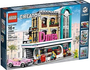 Lego Creator Expert 10260 Jeu De Construction Diner En Centre