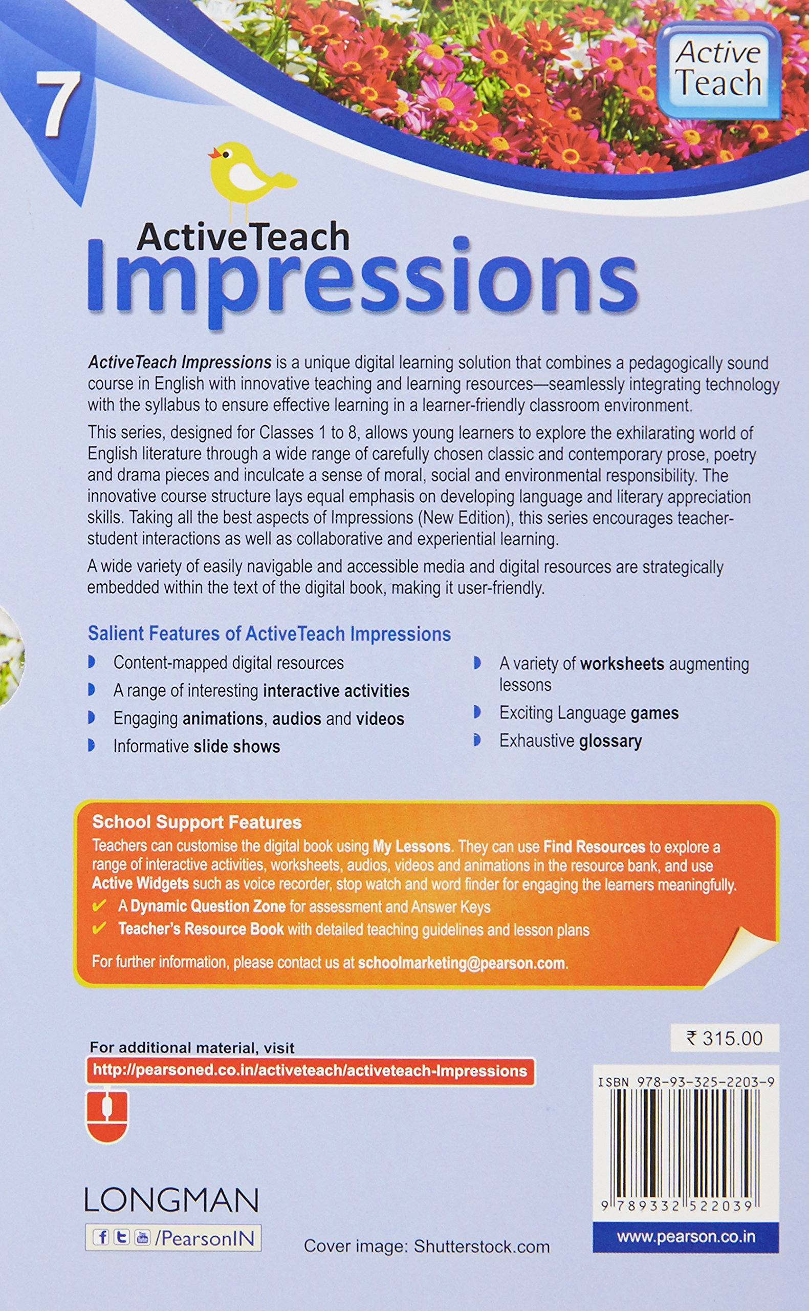 Longman impressions 6 guide ebook longman writer the brief array amazon in buy activeteach impressions 7 by pearson for icse english rh amazon in fandeluxe Image collections