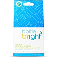 Botella Brillante Biodegradable Todo Natural Efervescente Botella Pastillas de Limpieza