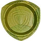 Orion L, Teller, Einweggeschirr aus Laubblättern, 15 Stück, 25 cm