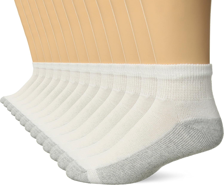 Hanes Mens FreshIQ Ankle Socks 13-Pack Includes 1 Free Bonus Pair