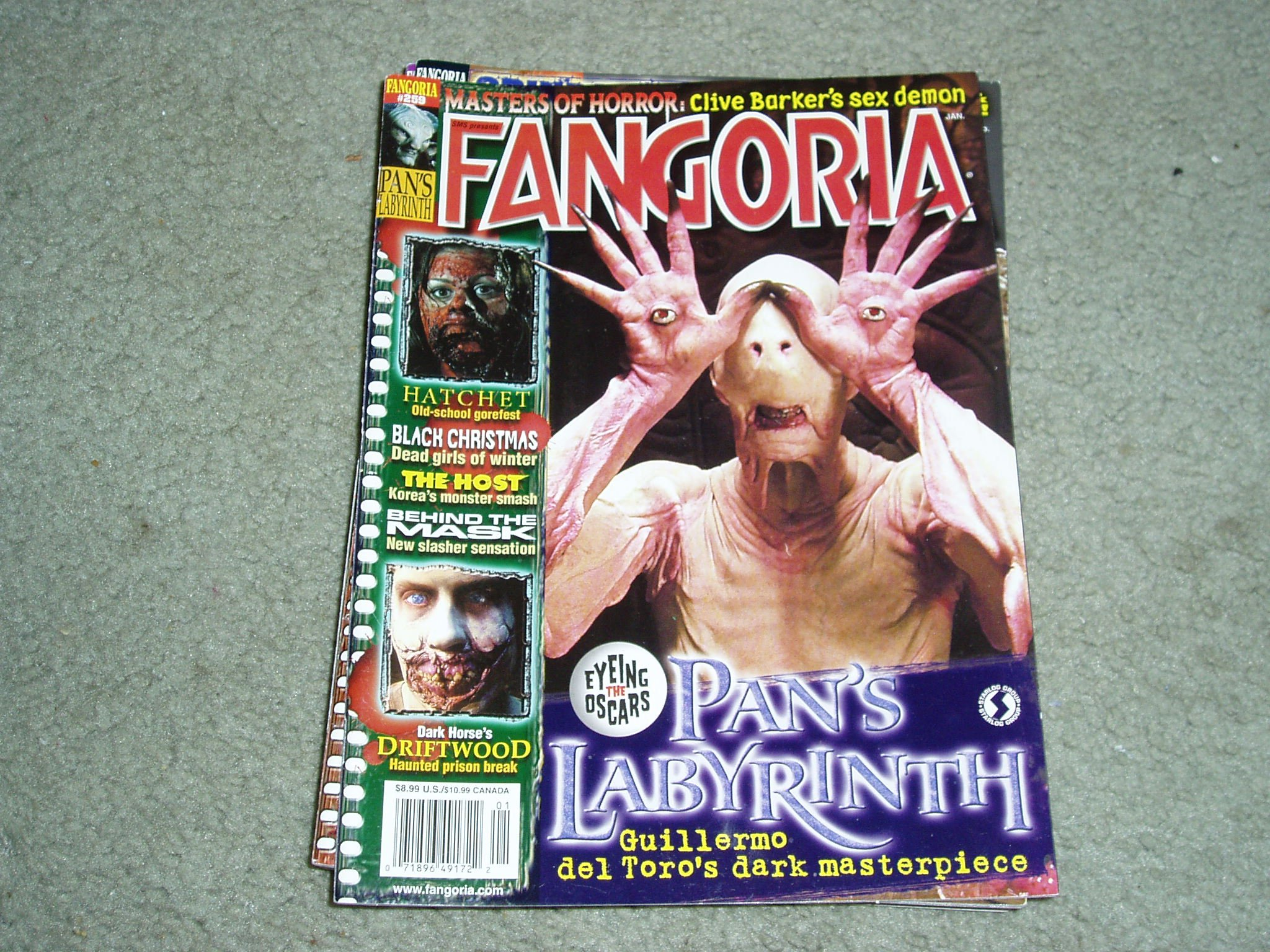 Fangoria Horror Magazine Issue # 259 January 2007 ebook