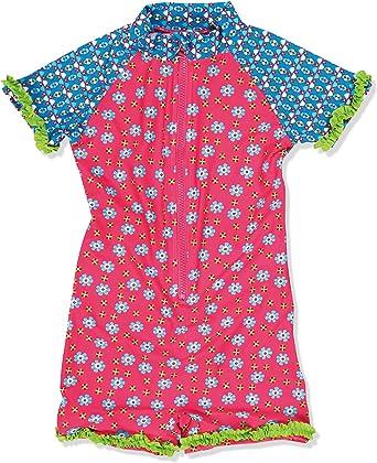 Playshoes Girlss UV Sun Protection Flower Collection Bikini Swimsuit