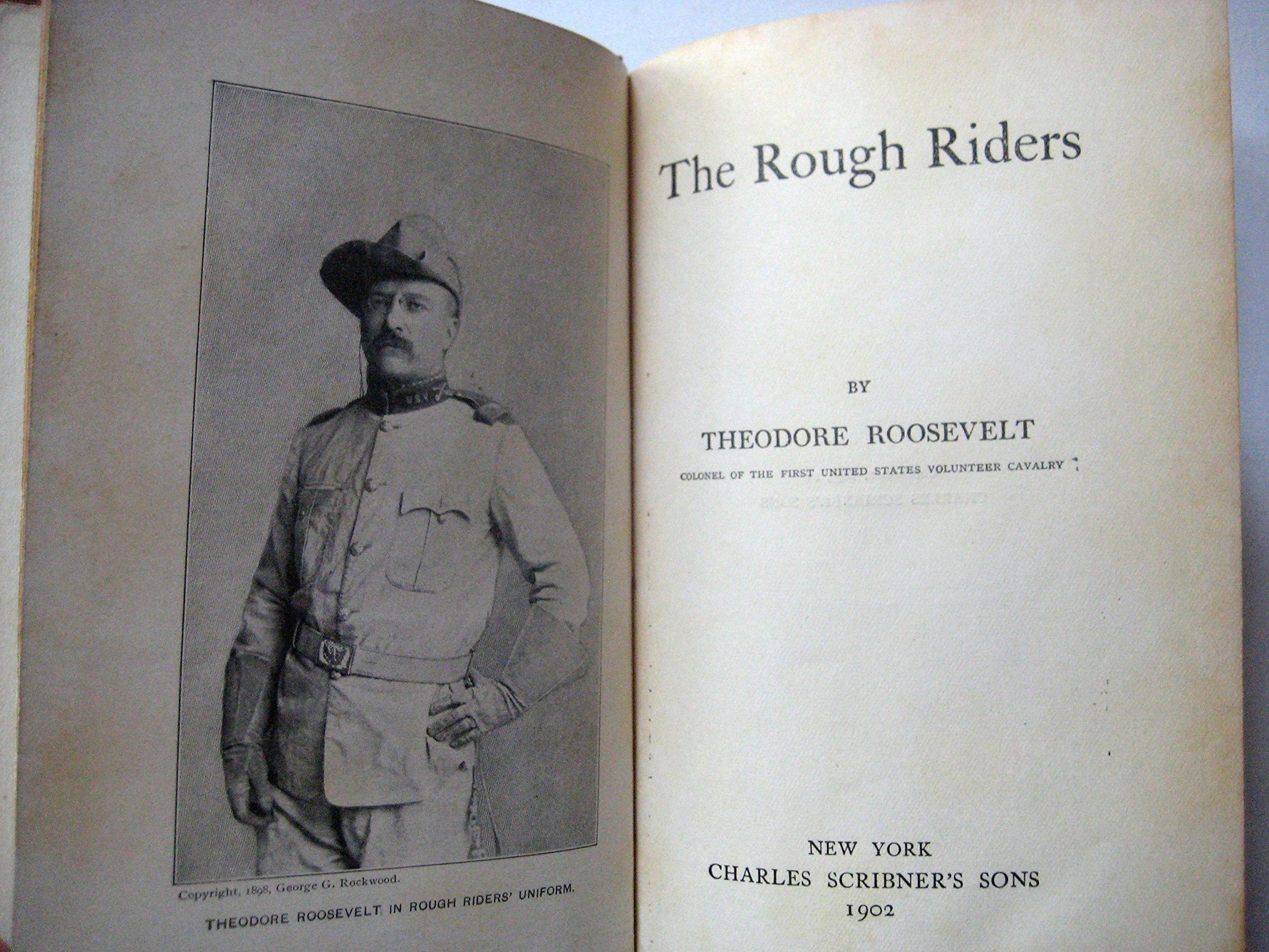 teddy roosevelt rough riders list of names