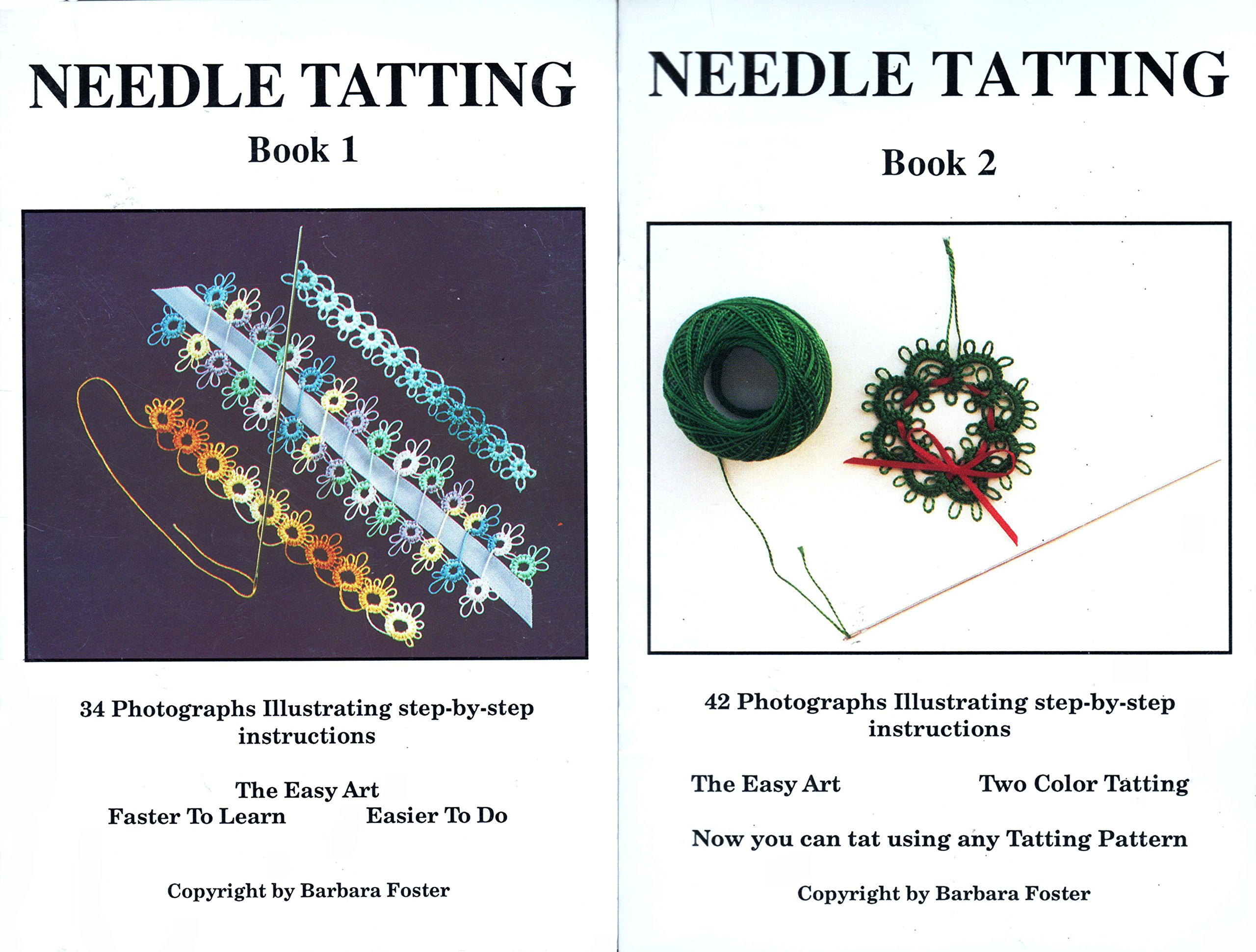 Needle Tatting Amazon Barbara A Foster 9781883432003 Books