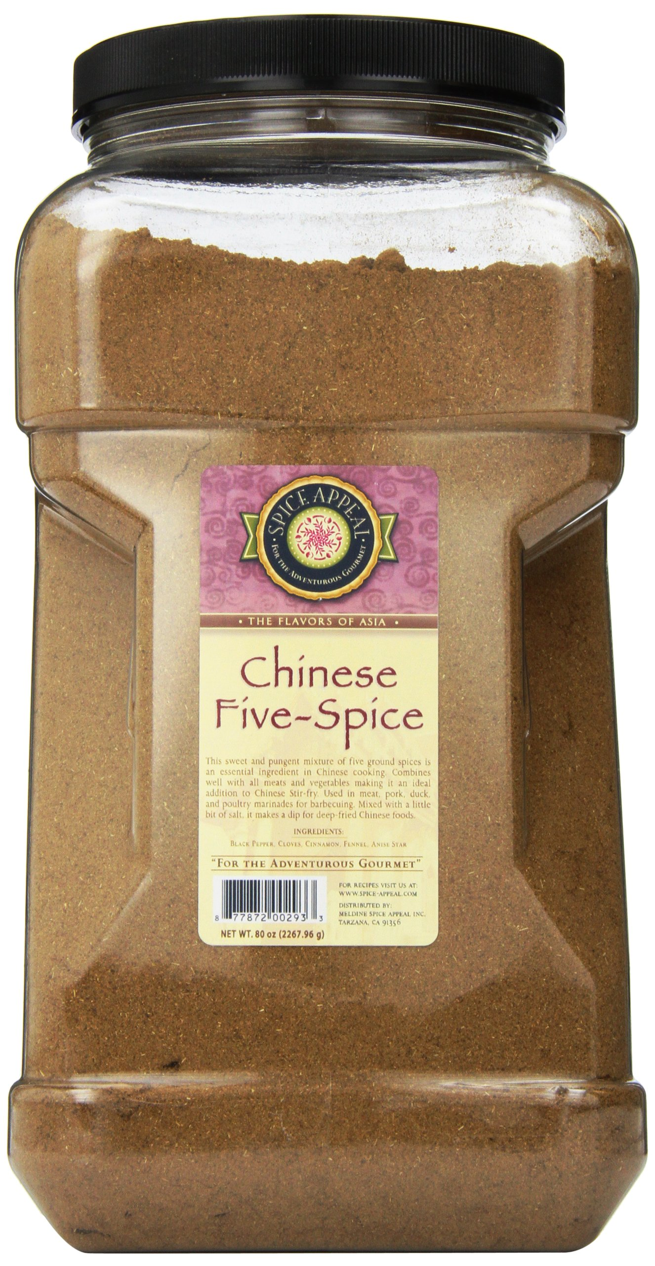 Spice Appeal Chinese Five-Spice, 5 lbs by Spice Appeal (Image #1)