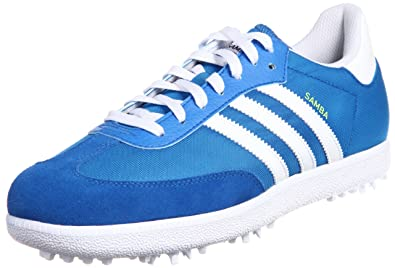 2013 Adidas Samba Funky Golf Shoes-Galaxy White-10UK  Amazon.co.uk ... b81828408db