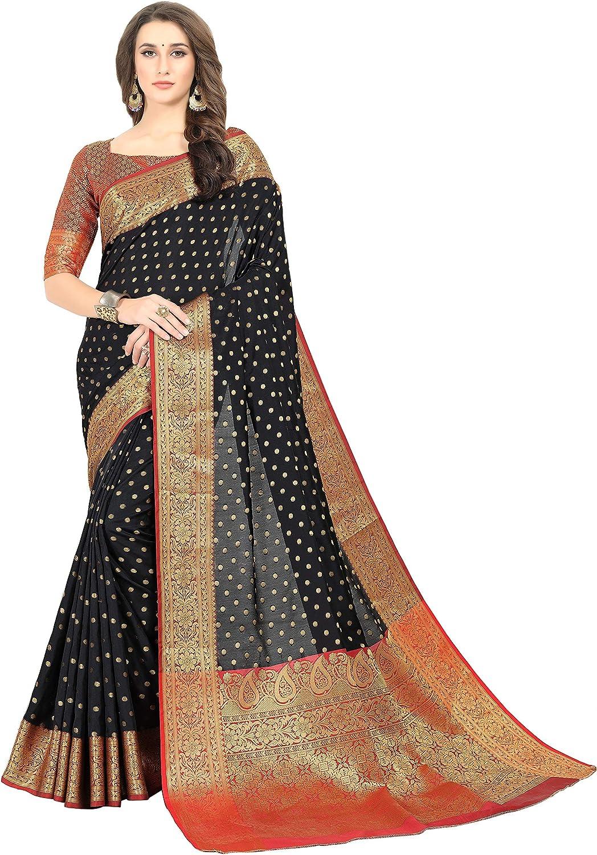 khadi Chiffon Durga Puja Zari Work Pure Chiffon Banarasi Silk Handwoven Saree Designer Weaving Fabric Sari Women With Running Blouse Pece