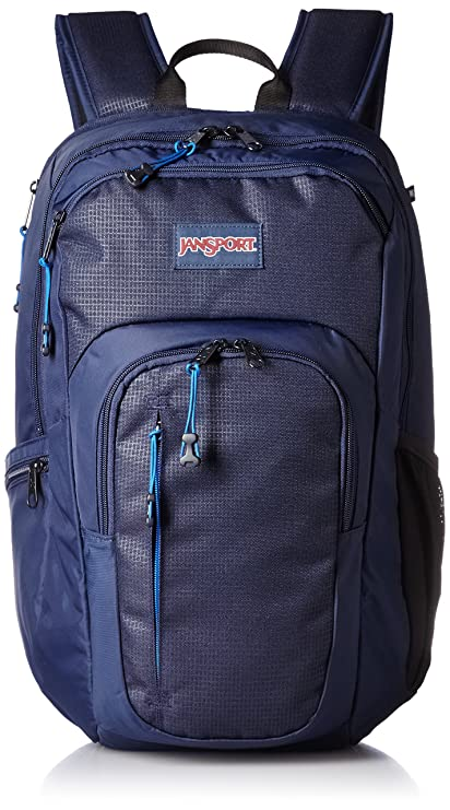 offer luxuriant in design 100% authentic JanSport Mens Digital Carry Mainstream Recruit Backpack - Navy / 19.3HX  11.5WX 9.5D