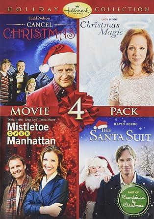 hallmark holiday collection 2 cancel christmaschristmas magicsanta suitmistletoe over - Christmas Magic Movie