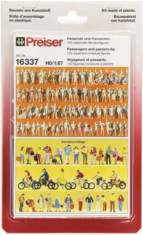 PR16337 Voyageurs et Passants Mod/élisme Ferroviaire Preiser 1//87 /Ème