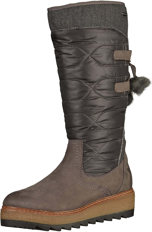 Tamaris 1-26621-39 Damen Stiefel Stiefel Damen Dunkelgrau 5c5f65