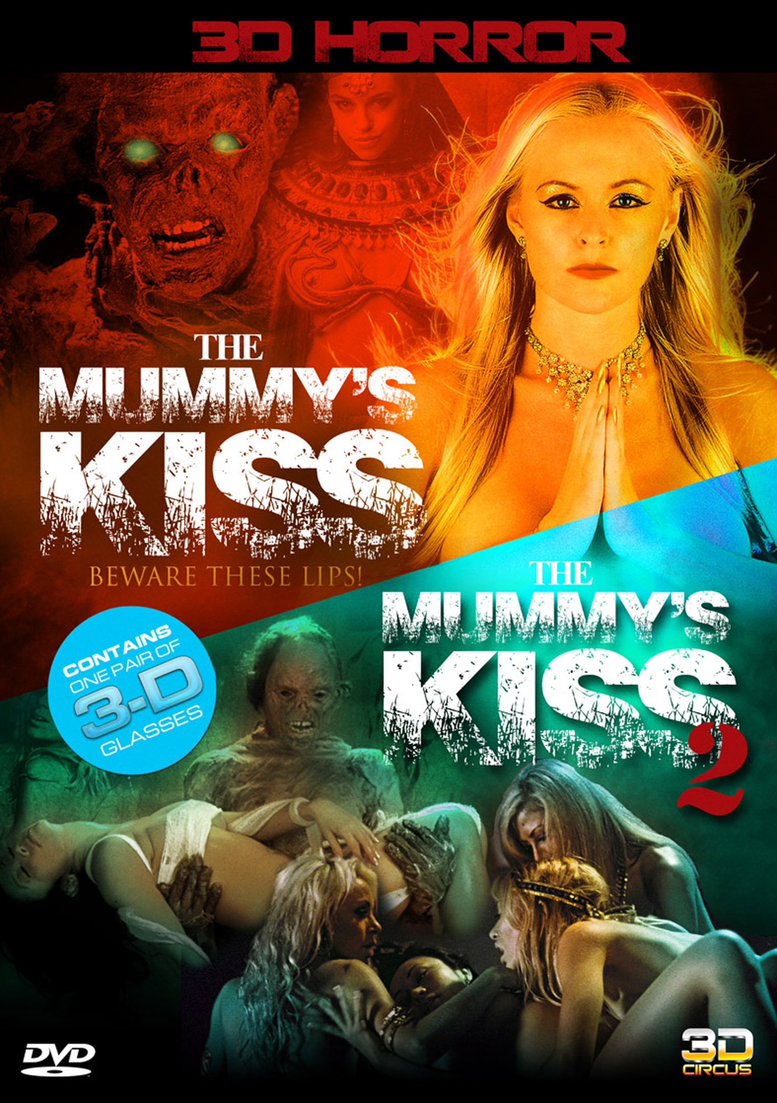 DVD : Mummy's Kiss / The Mummy's Kiss: 2nd Dynasty (In 3D) (DVD)