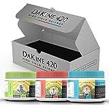 DaKine 420 Nitro Nutrients Advanced Hydroponic Fertilizer & Indoor Plant Food Starter Kit