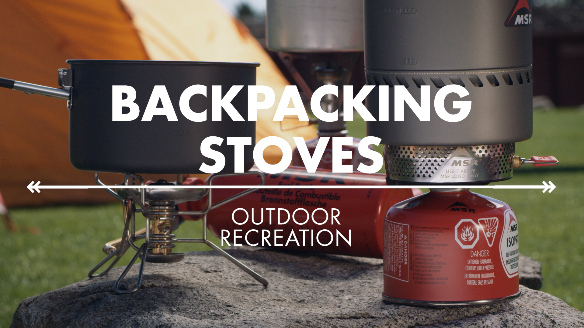 Lightweight Backpacking Stoves