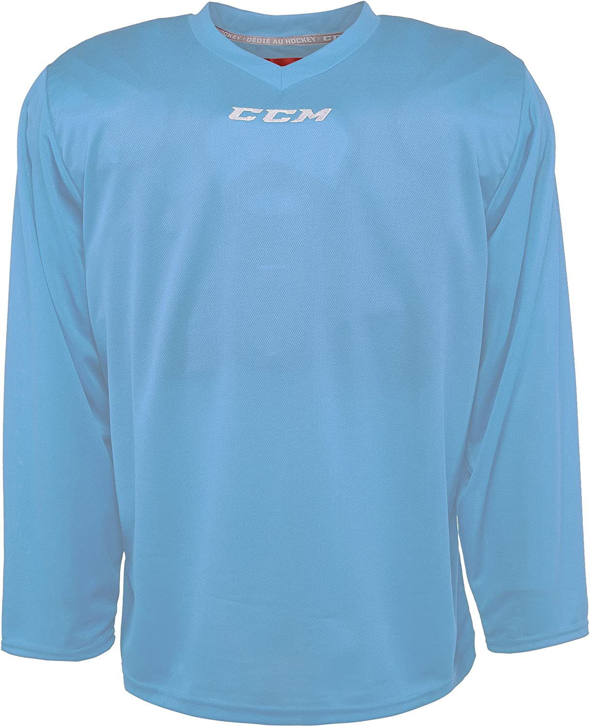 Junior Columbia Blue CCM 5000 Series Hockey Practice Jersey Large-X-Large