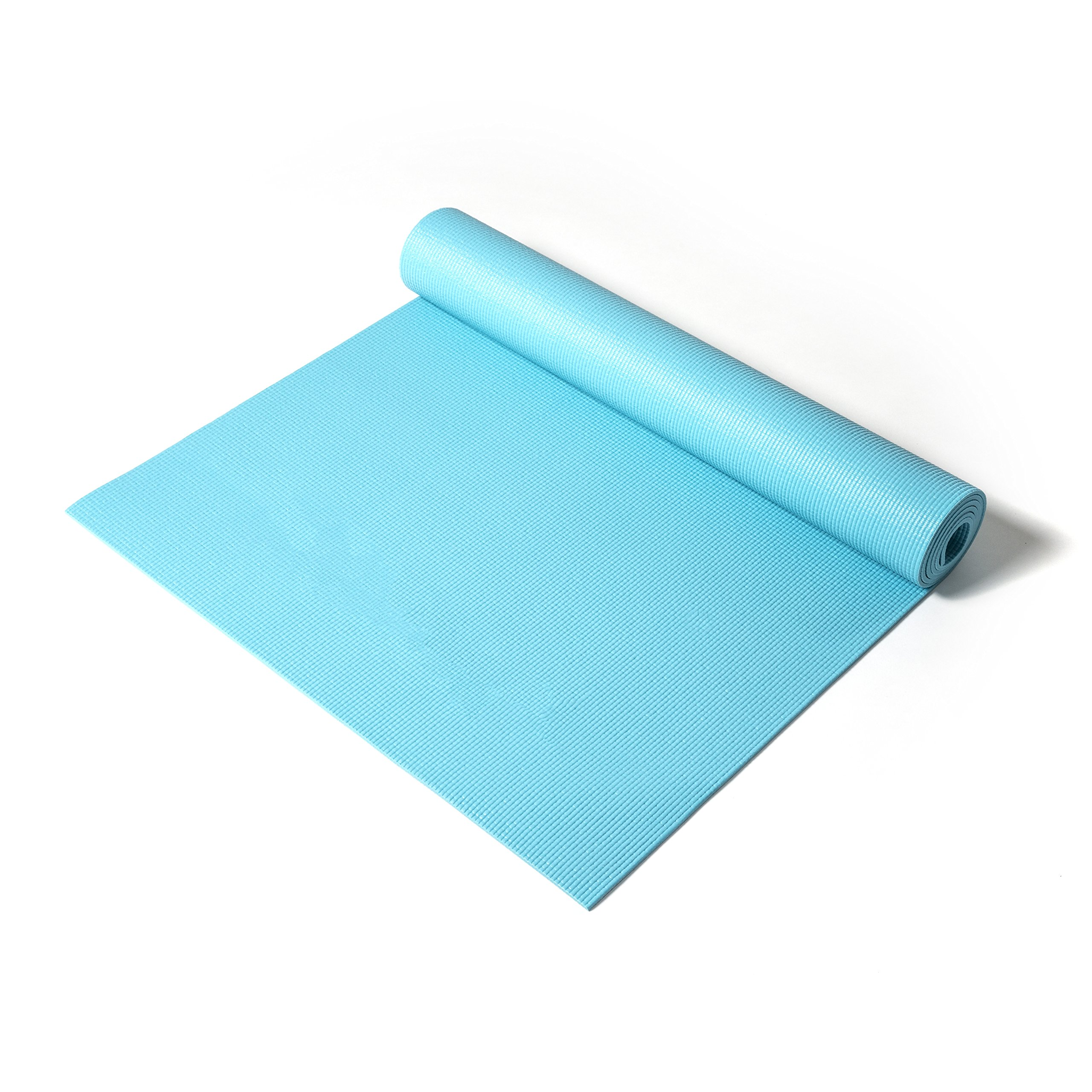 Reebok fitness , training equipment, Yoga mat (color: Blue) [RAMT-11024BLL] by Reebok (Image #2)