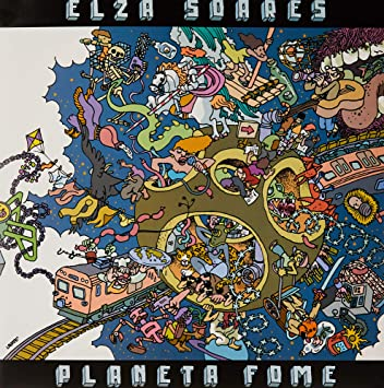 "Elza Soares, LP ""Planeta Fome"" [Disco de Vinil]: Amazon.com.br: CD ..."