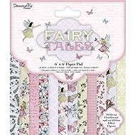Dovecraft Premium Fairy Tales FSC 6x6 Paper Pack, Multicolour, 1