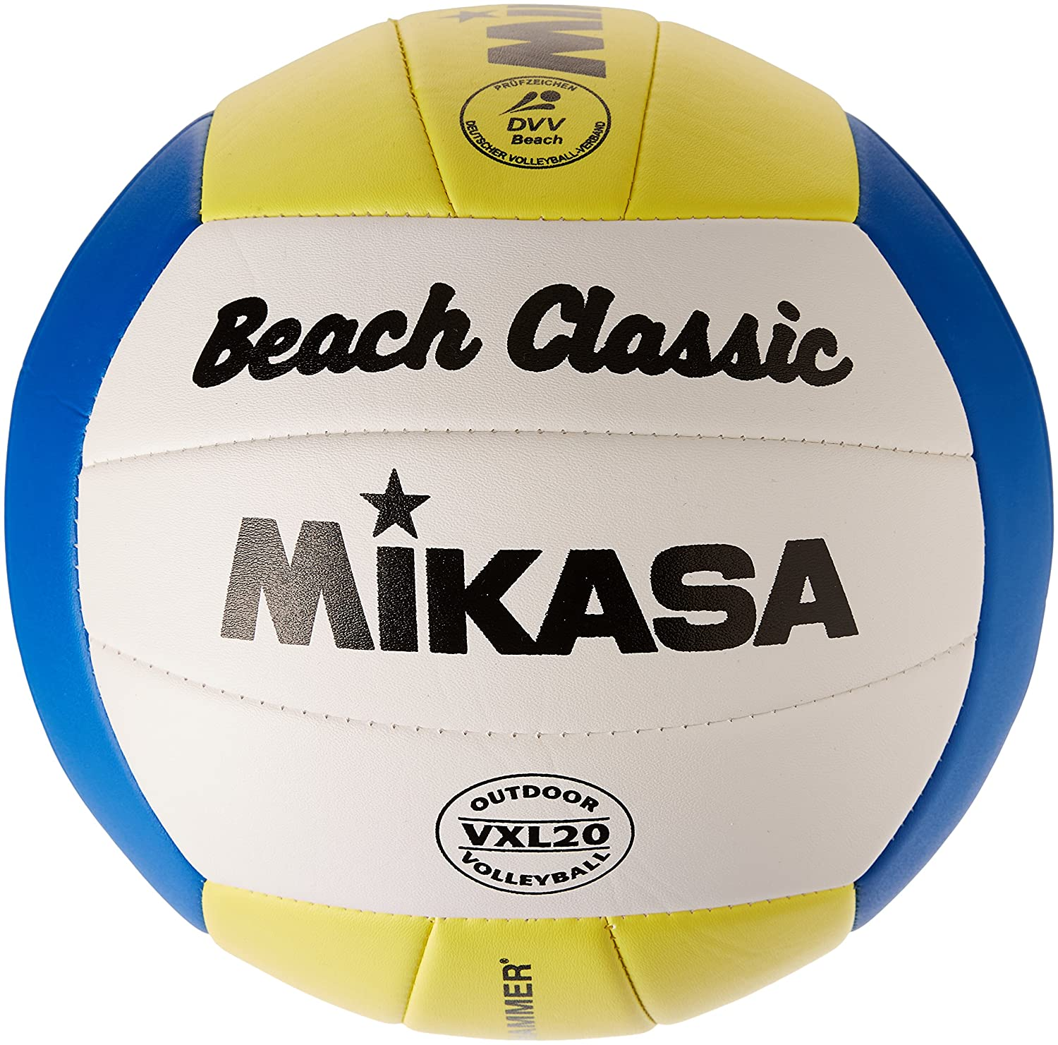Mikasa Beach Classic Ballon de beach volley taille 5 Multicolore 1624