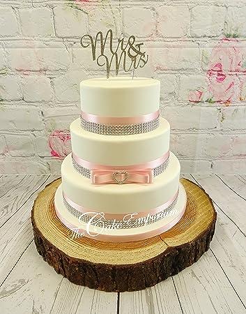 The Cake Emporium Ltd Tortenaufsatz Fur Hochzeitstorte Herzform
