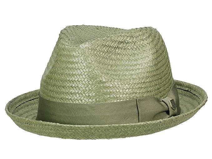 8b1a44e977660 Brixton Men s Player Hat Castor - grey  Amazon.co.uk  Clothing