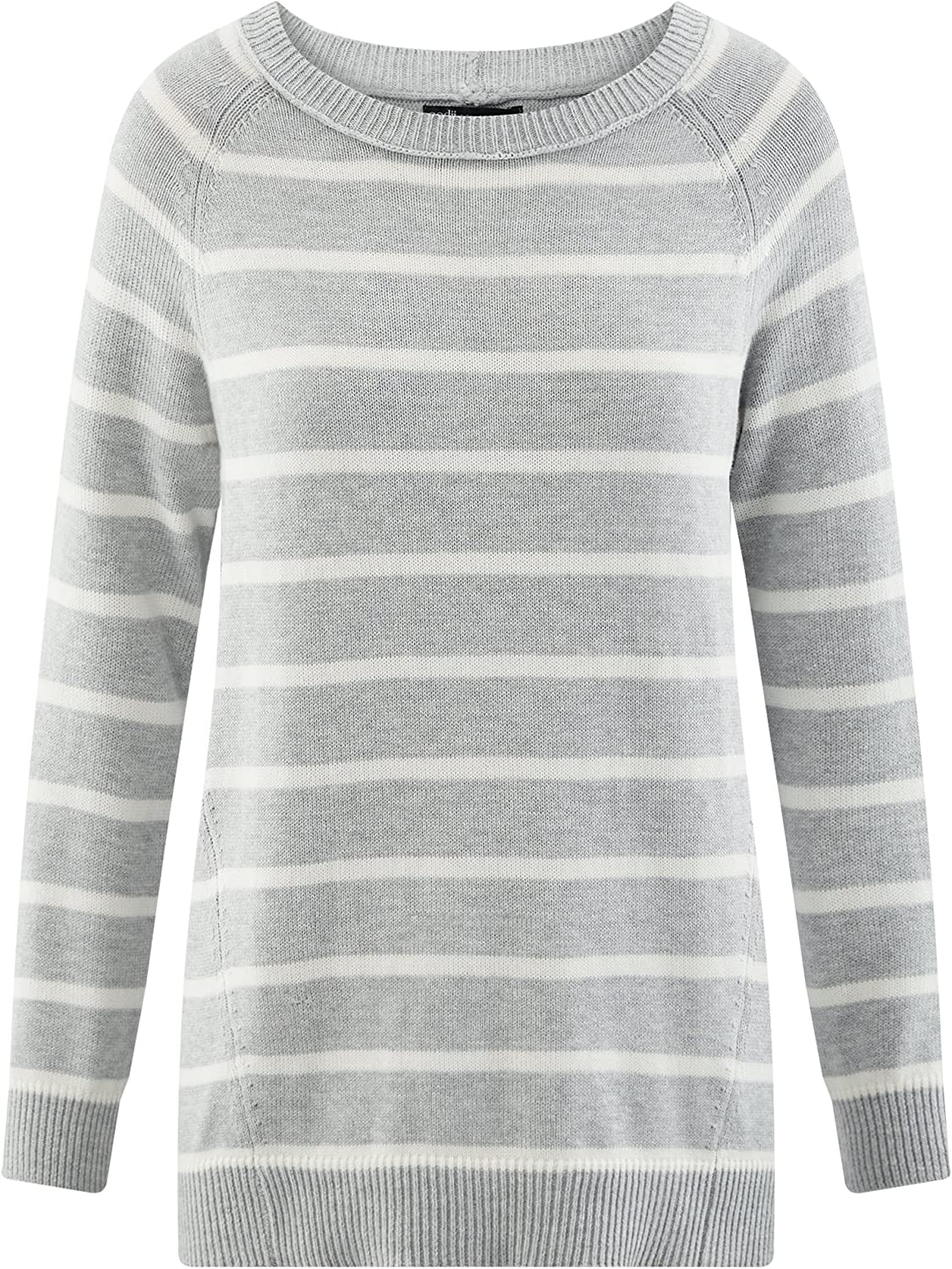 oodji Collection Mujer Jersey Ancho a Rayas