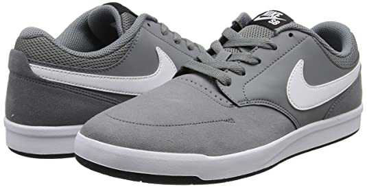 uk availability f924f c6b26 Nike SB Fokus Chaussures de Sport Homme, Gris (Cool Grey White-Black) 40.5  EU  Amazon.fr  Chaussures et Sacs