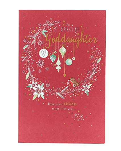 Tarjeta de Navidad para hija, tarjeta de Navidad ...