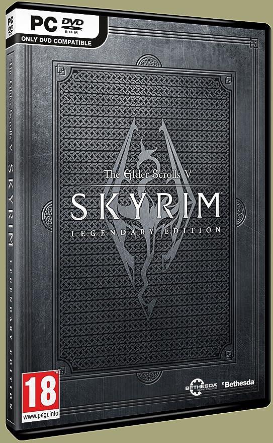 The Elder Scrolls V Skyrim Legendary Edition (PC DVD): Amazon co uk