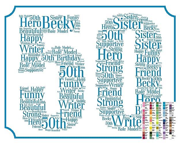 50th Birthday Gifts Gift Ideas 50 Birthdays Decoration