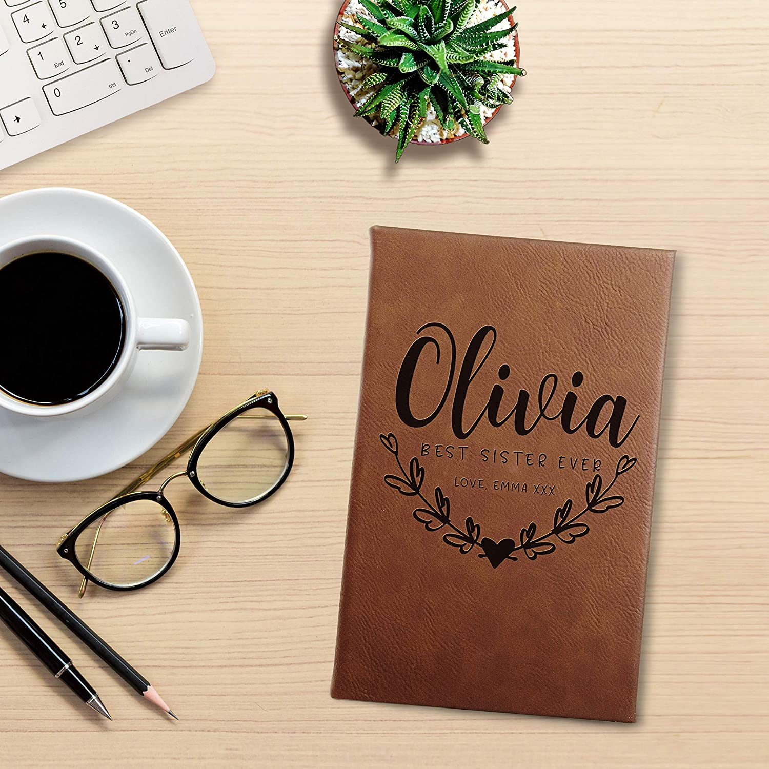 Personalized Leather gift for women