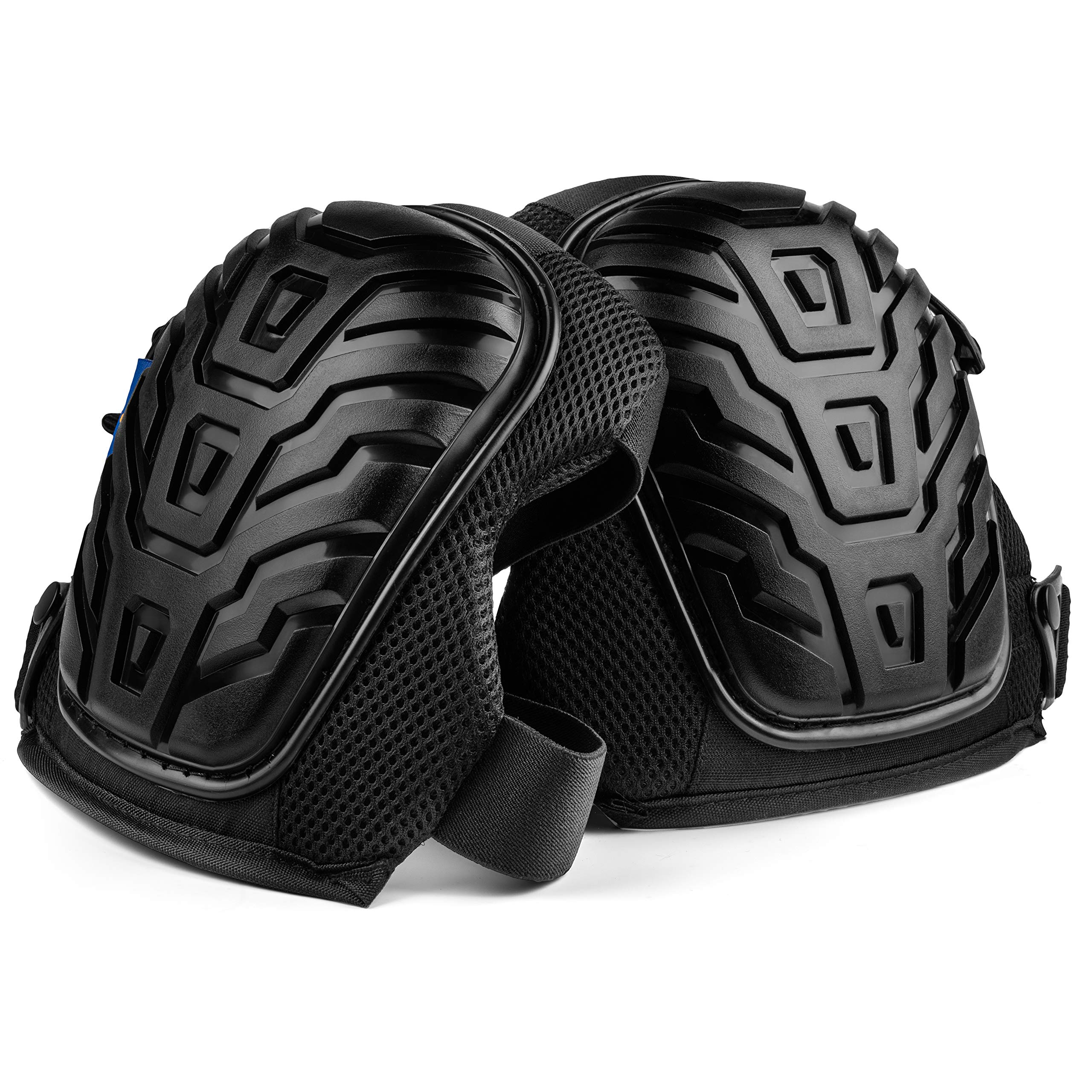 Rough Work Gear Professional Knee Pads - Built Tough To Last - Will Stay In Place All Day Long