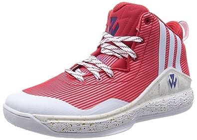 Adidas John WALL Chaussures de basketball femme Rouge 50 2/3 FR