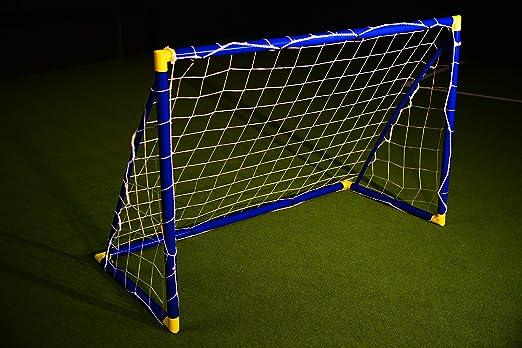 7 opinioni per PORTA da calcio- DIVERSI COLORI- [ 1,8 x 1,2 m ]- RESISTENTE FUORI tutto l'anno,