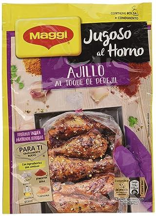 Maggi Jugoso al Horno a la Barbacoa - 1 Bolsa para Horno con ...
