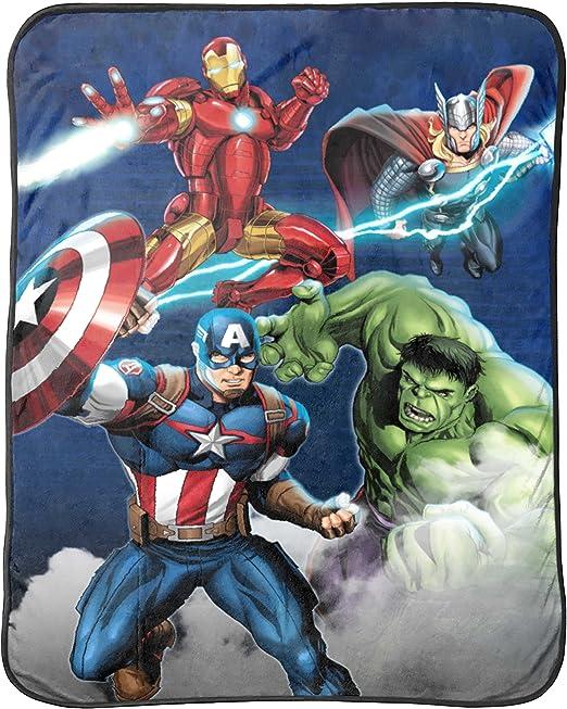 Avengers-The Hulk,Marvel Plush Throw Blanket`40 x 50`100/% Polyester-/>New`Free US