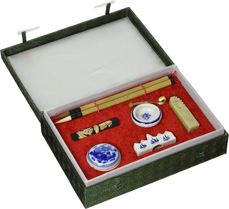 Oriental Furniture Calligraphy Writing Set