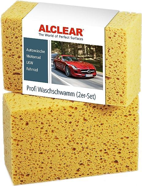 10 x Autoschwamm ca.18 x 9,5 x 5 cm Waschschwamm Autow/äsche KFZ Pflege Wohnwagen