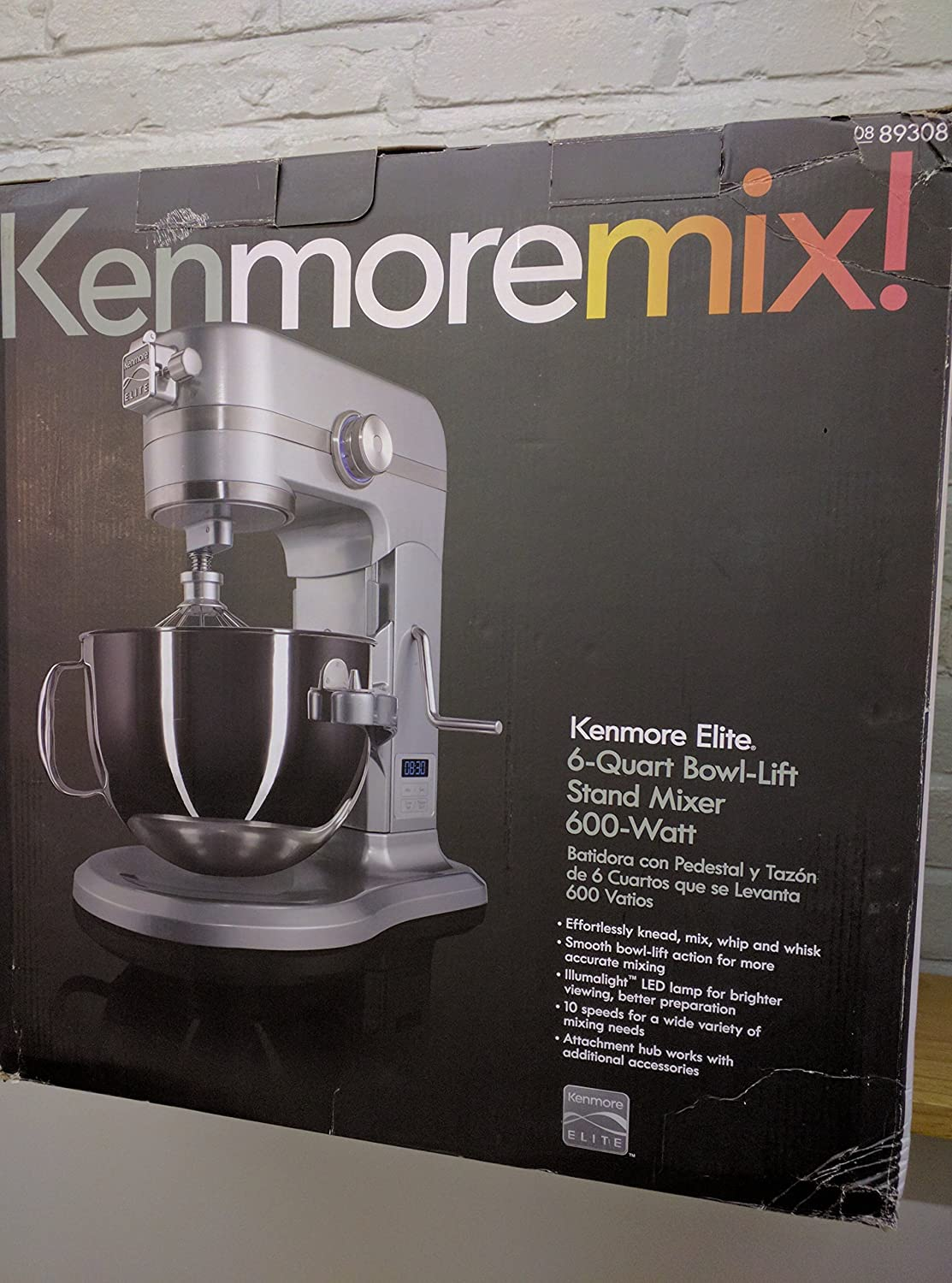 Amazon.com: Compatible with Kenmore Elite 89308 Stand Mixer Coated Flat Beater (OEM): Kitchen & Dining