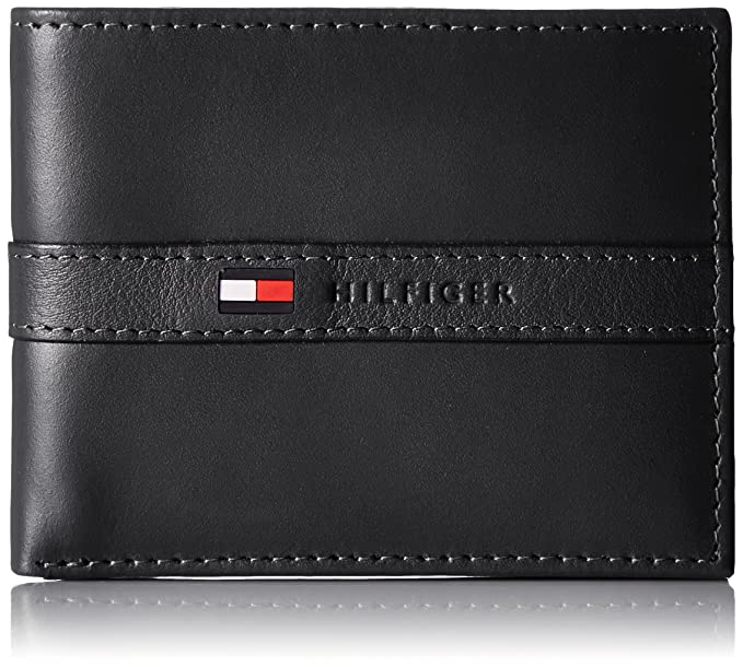 f4a0e6e200 Tommy Hilfiger Men S Ranger Leather Passcase Wallet with Removable ...